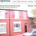 Haunted house: Terraced three-bed property to rent on Rightmove has 'resident poltergeist'