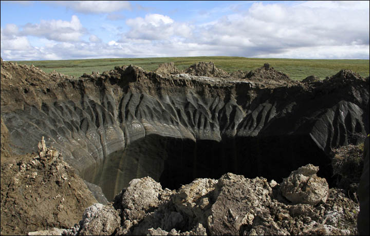 Mysterious Holes