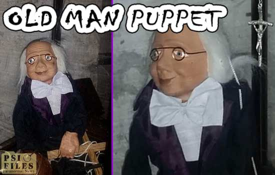 Old Man haunted puppet