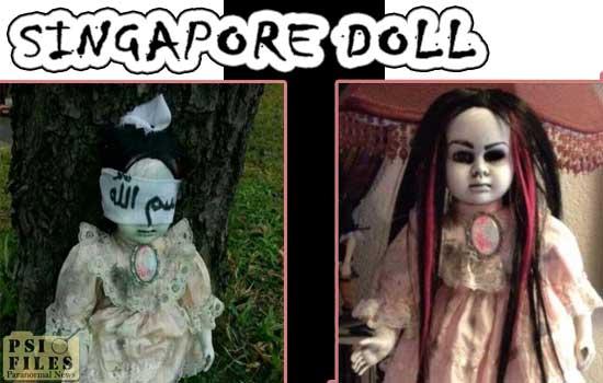 Singapore Blind Doll
