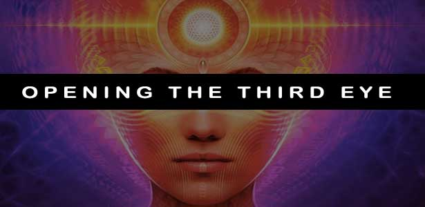 how to open third eye